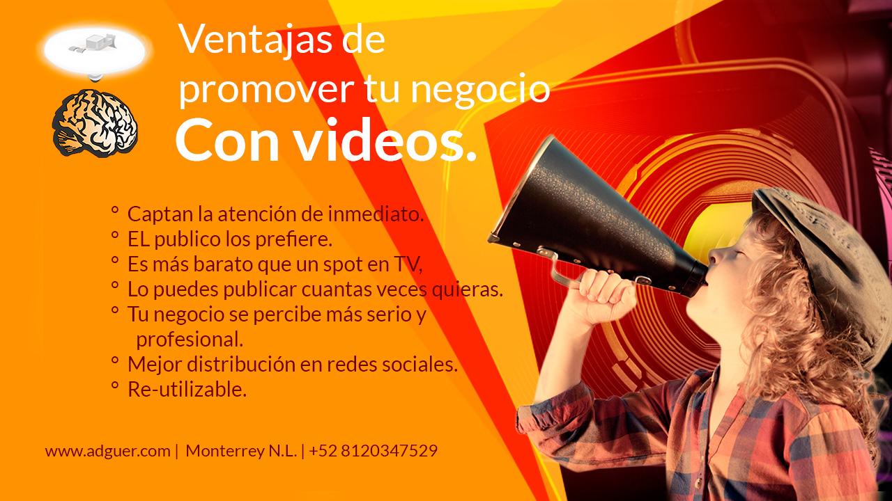 Videos Promocionales Monterrey  e70eb1c823202