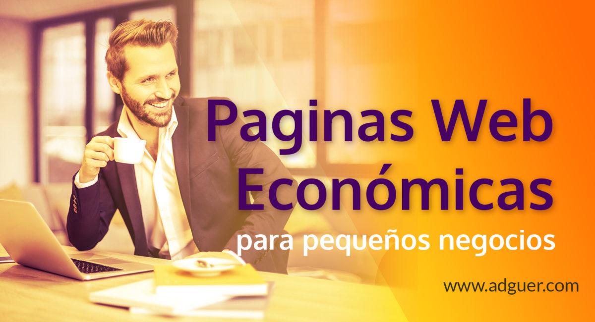 Diseño de Paginas Web Económicas